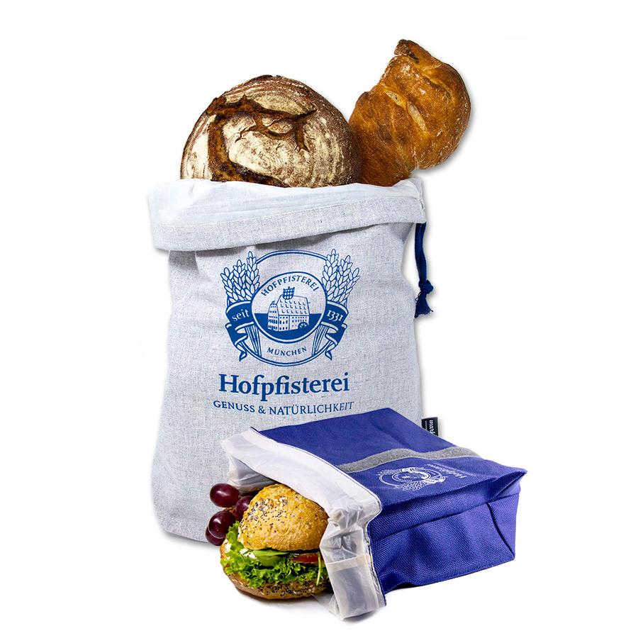 Nachhaltige Bäckerei Hofpfisterei Branding