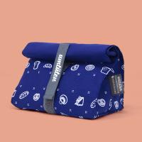 Snack-Tüüt blau - der nachhaltige Snackbeutel